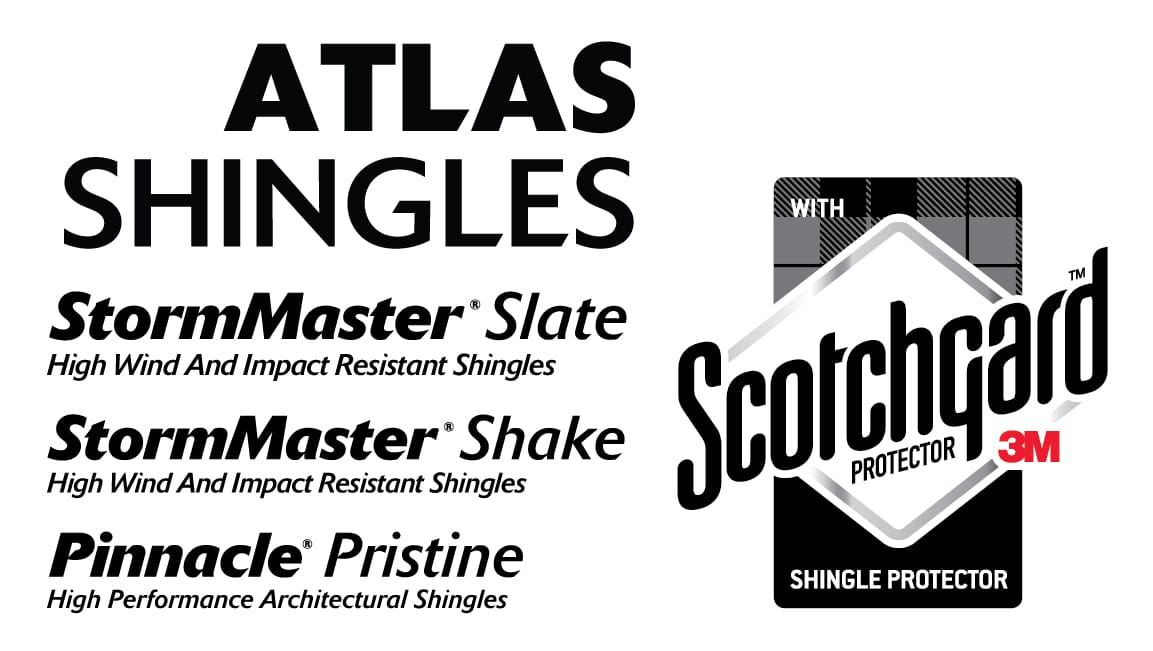 Stormmaster Shake Roofing Shingles Featuring Scotchgard