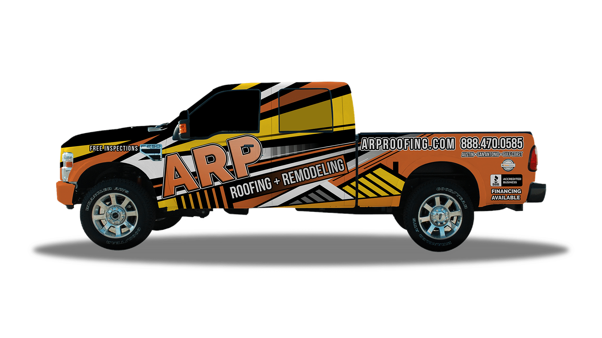 San Marcos Roofing Company - Our Truck