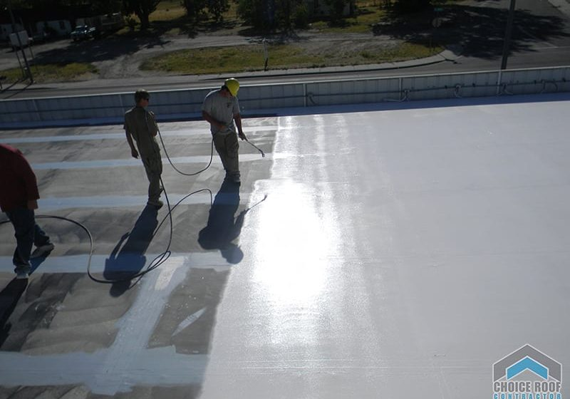 White Cool Roof Coatings